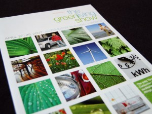 Green Living Show Brochure