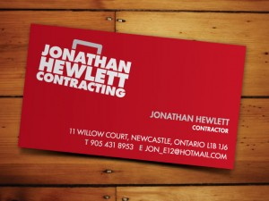 Jonathan Hewlett Contracting