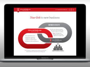 Advocate Daily Interactive PDF Media Kits